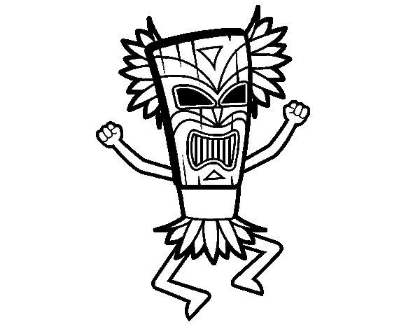 Dibuix de Déu maia per Pintar on-line