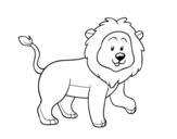 Dibujo de Lleó adult