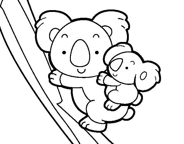 Dibuix de Mare coala per Pintar on-line