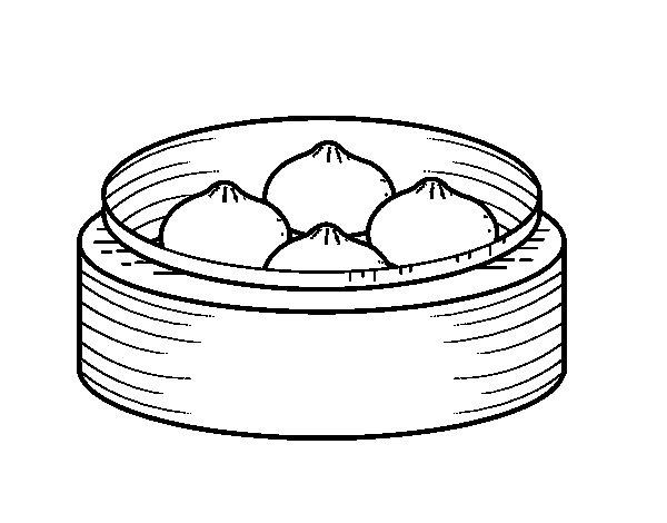 Dibuix de Nikuman per Pintar on-line