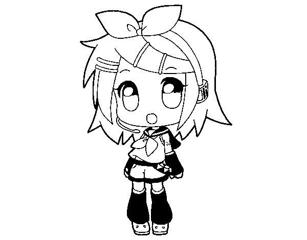 Dibuix de Rin per Pintar on-line