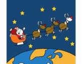 Pare Noel repartint regals 3