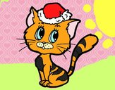 Un gat nadalenc