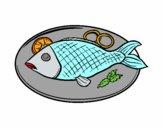 Plat de peix