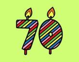 70 anys