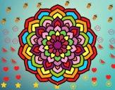Mandala pètals de flor