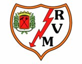 Escut del Rayo Vallecano de Madrid